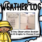 Weather Log Booklet