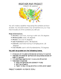 Weather Map Project-Description and Rubric