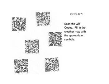 Weather Map QR Code Activity