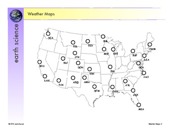 Weather Maps Construction and Analysis