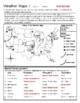 Weather Maps I - Practice Current Conditions and Forecast Activity