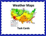 Weather Maps Task Cards