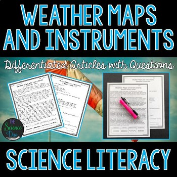 Weather Maps and Instruments - Science Literacy Article