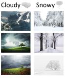 Weather Matching File Folder Activity