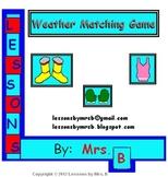 Weather Matching Game