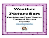 Weather Matching- Pictures with Weather Words andTerms wit
