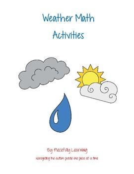 Weather Math Activities