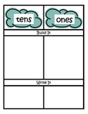 Weather Math Centers ~ Common Core Place Value ~ Assessment Differentiation