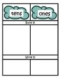 Weather Math Centers ~ Common Core Place Value ~ Assessmen