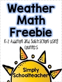 Weather Math Journal (K-2)