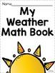 Weather Math Journal (K-2)