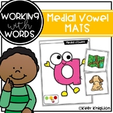 Medial Vowel Sound Mats || WORKING WITH WORDS ||