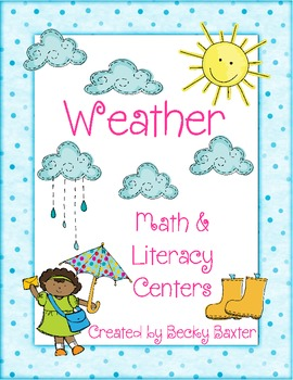 Weather: Math and Literacy Centers