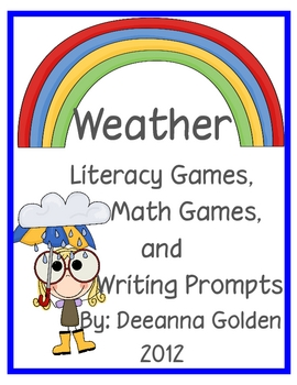Weather Math and Literacy Games