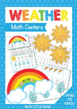 Weather Maths Centers