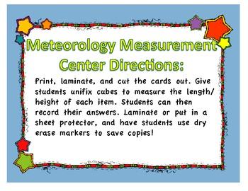 Weather Measurement Unit Math Center