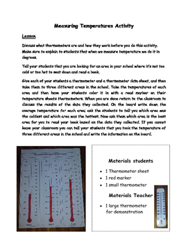 Weather Measuring Tools Lesson
