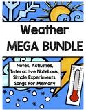 Weather MEGA BUNDLE (Advanced, General ED, SPED, 180 PAGES!)
