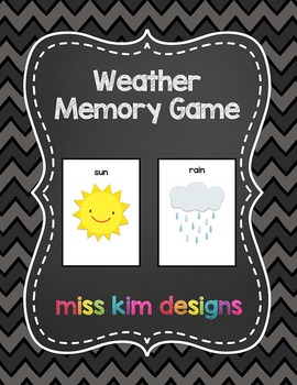 Weather Memory Game