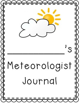 Weather / Meteorologist Journal