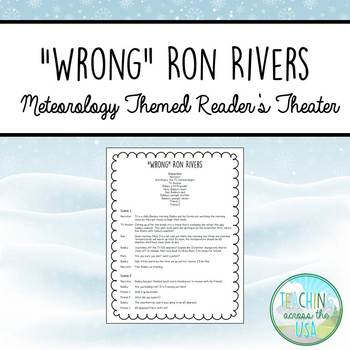 Weather/Meteorology Reader's Theater