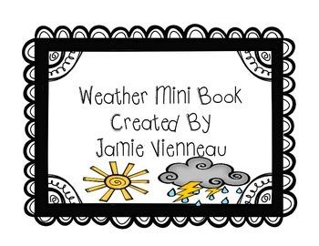 Weather Mini Book
