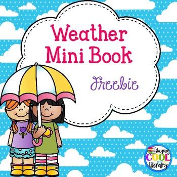 Weather Mini Book {Freebie}