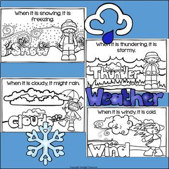 Weather Mini Book for Early Readers