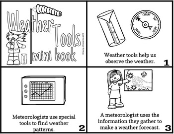 Weather Mini Books: Clouds, Weather Tools, Severe Weather