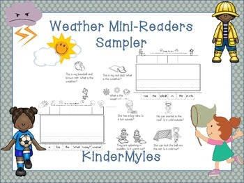 Weather Mini-Readers (and Writing)