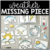 Weather Missing Pieces Task Box | Task Boxes for Special E