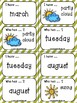Weather, Months, & Days I Have Who Has Game
