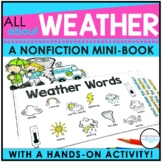 Weather Activities for 2nd, 3rd, or 4th grade
