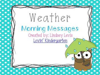 Weather - Morning Messages