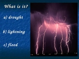 Weather - Natural Disasters PowerPoint Game