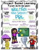 Weather News Segment PBL (5 student job packets, 5 lesson plans)