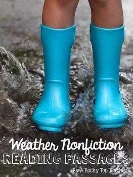 Weather Nonfiction Reading Passages