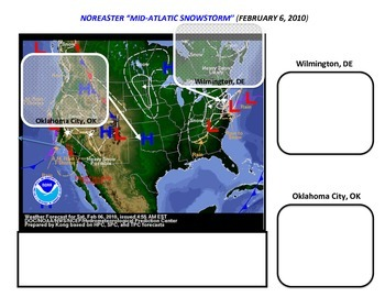 Weather: Nor'easter and Snowstorm Scenario (National/Regional Map Analysis)