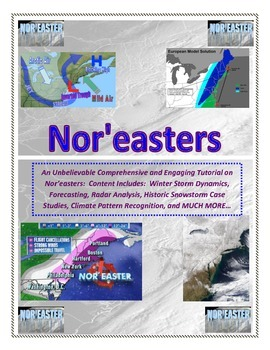 Weather: Nor'easters (Learn How to Forecast Winter Snowstorms Like the TV Mets!)