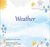 Weather Notebook File for the SmartBoard