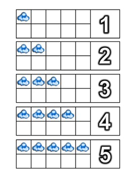 Weather Number / Counting Activities