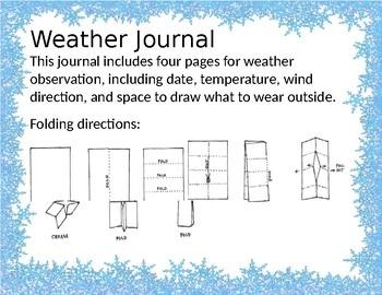 STEM Science Weather Observation Journal