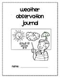 Weather Observation Journal
