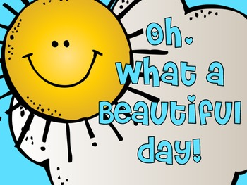Weather: Oh, What a Beautiful Day! by Bethany Ray | TpT