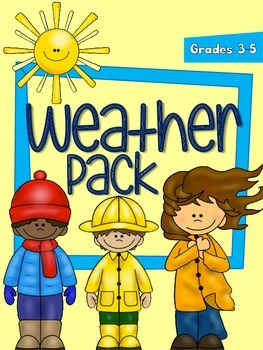Weather Pack - 21-Page Intermediate Science Mini-Unit