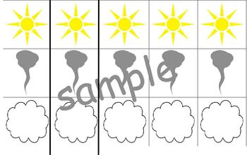 Weather Patterning Strips for Weather Unit