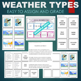 Weather Patterns (Fronts, High and Low Pressure Systems) Sort & Match Activity