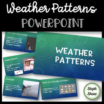 Weather Patterns - POWERPOINT - complete with animations and GIFs!
