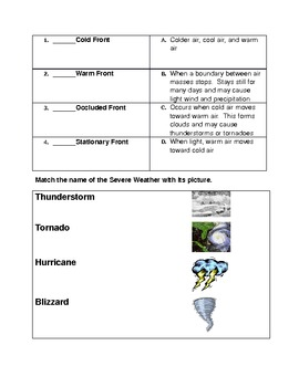 Weather Patterns and Extreme Weather