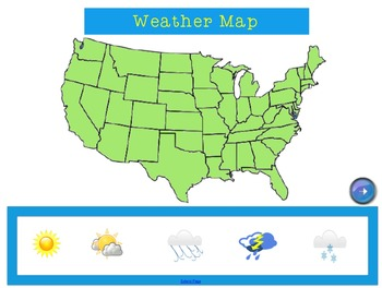 Weather Person Smart Notebook Calendar Time & Solo Singing